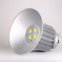 200w Led High Bay Light White Industrial Warehouse Ceiling Lighting Gym Workshop