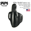 SHADO-Leather-Holster-USA-Elite-Model-19115-112-Left-Hand-Black-OWB-1911-Colt thumbnail 1