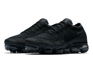 premium selection 32cfc 486d5 Details about Women's Nike Air Vapormax Flyknit Triple Black Grey B-Grade  size 7 849557 006