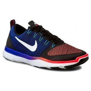 b8d50e7fc6139 Nike Free Train Versatility Black White Blue Red Men s Running ...