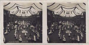 Parigi Salon Da Scultura Grand Palais Foto Stereo Vintage Analogica