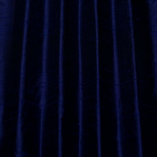 "Iridescent Midnight Blue Dupioni 100/% Silk Fabric 44/""//54/"" W By The Yard S-154"