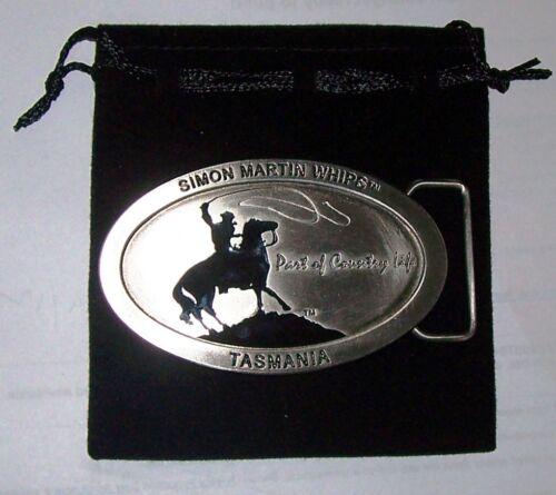 Great Gift Idea Simon Martin Whips Belt Horse Buckle