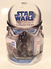 "Star Wars Legacy Collection Super Battle Droid 3.75"" Figure SL10 Saga Legends"