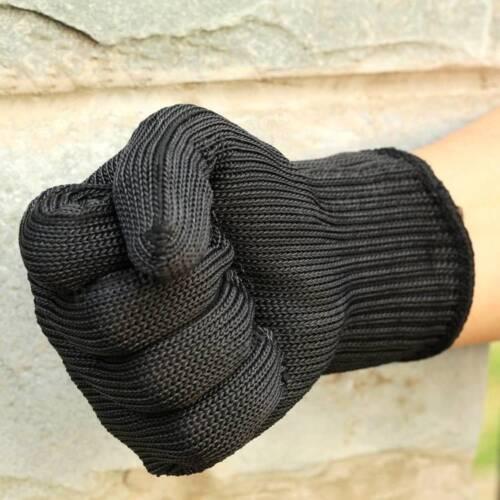 1 paire de sécurité en fil d/'acier des gants anti-coupe de jardinage