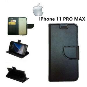 Dettagli su COVER CUSTODIA A LIBRO PER APPLE iPhone 11 PRO MAX