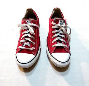 all star converse rojo mujer