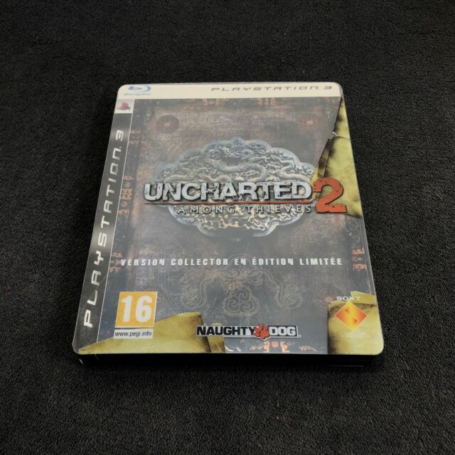 PS3 Uncharted 2: Among Thieves ~ Edition Spéciale ~ FRA CD état neuf
