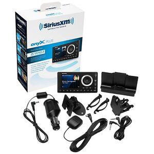 SiriusXM SXPL1V1 Onyx Plus Satellite Radio with Vehicle Kit With Free 3 Month...