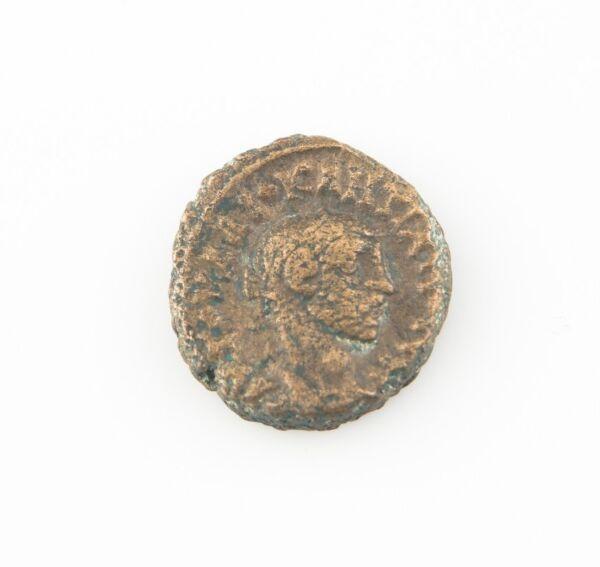 288 Ad Romain Égypte Billon Tetradrachm Pièce De Monnaie Vf Dioclétien Athena