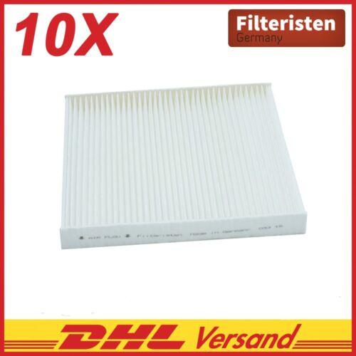 10x filteristen interior filtros filtro de polen Fiat Ducato recuadro 250 Ducato