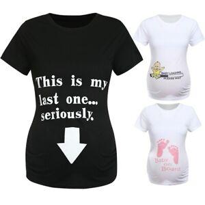 Women-Maternity-Casual-Short-Sleeve-Cartoon-Letter-Tops-T-Shirt-Pregnancy-Blouse