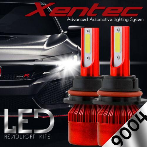 XENTEC LED HID Headlight Conversion kit 9004 HB1 6000K for 1992-1996 Mazda MX-3