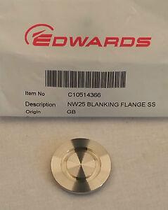 C10514366  NW25KF25 Blanking Flange Stainless Steel - Thornbury, Bristol, United Kingdom - C10514366  NW25KF25 Blanking Flange Stainless Steel - Thornbury, Bristol, United Kingdom