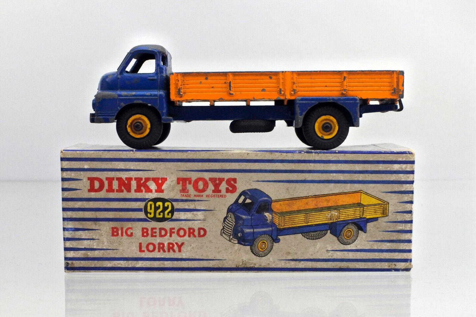 DINKY 922 DIECAST BIG BIG BIG BEDFORD LORRY ROYAL blueE orange 199703