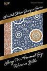 Large Print Personal Size Reference Bible-KJV-Designer Bohemian Paisley by Holman Bibles (Leather / fine binding, 2016)