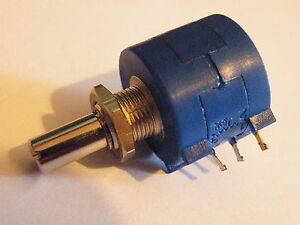 10 Turn Pot Potentiometer 100K 2W Multiturn Panel Mounting Fine Adjust 21g CP24