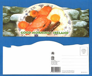 CARTOLINA-POSTCARD-A-GREAT-IRISH-BREAKFAST-IRELAND-1980-ca