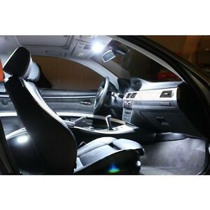 Bmw 3 Series E90 E92 Interior Led Bulbs Kit White Xenon Lights Bulbs Interior Ebay