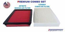 AF4675 C25864 COMBO Engine & Cabin Air Filter Set for NISSAN ROGUE SENTRA 2.5L
