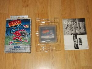Super Smash T.v. - Sega Game Gear - Cib - Pal - Completo Jouir D'Une RéPutation éLevéE Chez Soi Et à L'éTranger
