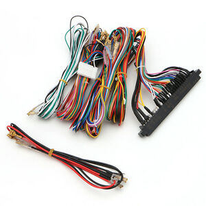 Details about 60 in 1 Arcade Jamma Board Machine Wiring Harness Harness on