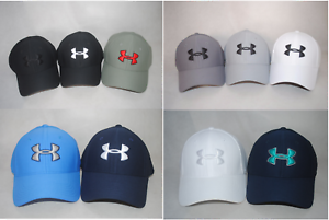 New Under Armour Men s UA Blitzing 3.0 Cap  1305036 Curved Bill ... 9bf651868ed3