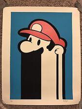 Proton Super Mario Brothers World Kart Art Print Poster Mondo Nes Game Nintendo