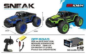1-12-RC-SNEAK-Off-Road-Buggy-Control-Remoto-de-alta-velocidad-rapida-Off-Road-Coche-Rtr-Juguete