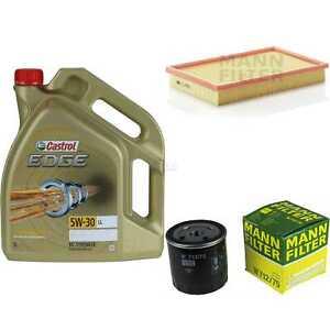 Inspektionskit-filtro-castrol-5l-aceite-5w30-para-Vauxhall-Cavalier-Mk-III-87-2-5