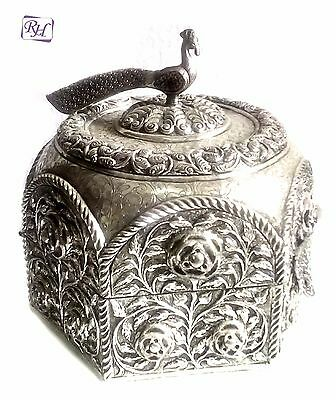 Silver Plated Box Antique Jewelry Box European Box Store Item