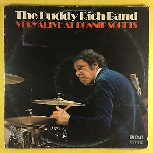 Buddy-Rich-Band-Very-Alive-At-Ronnie-Scotts-Club-Rca-Dps-2031-Ex-Condizioni