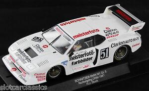 Racer Sideways Sw23 Bmw M1 Schnitzer Group 5 1 32 Slot Car Ebay