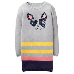 2f8c329321 Image is loading NWT-Gymboree-Girl-Dress-Frenchie-Sweater-Shift-Dress-