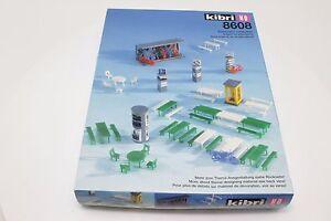 Kibri-8608-H0-Ausgestaltungsmaterial-Accessories-Bausatz-in-OVP