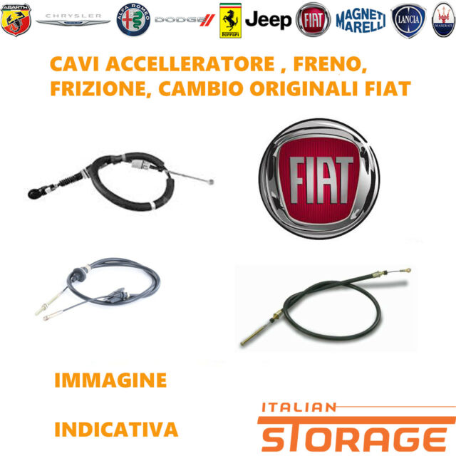 Lancia Musa 350 Fiat Idea de 2003 Câble Corde pour Frein A Main Original