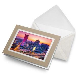 Greetings-Card-Biege-Warsaw-Poland-Nightlife-City-View-16363