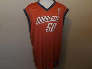 380126584 CHARLOTTE BOBCATS  50 OKAFOR REEBOK REGULAR SEASON NBA ORANGE JERSEY ...