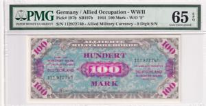 GERMANY 20 MARK 1915 P 63 GEM UNC PMG 65 EPQ