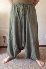 Fisherman Harem Gypsy Hippy Casual Trousers Tribal Hmong Yoga Baggy Men Pants