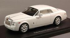 Rolls Royce Phantom Coupe' 2013 White 1:43 Model KYOSHO