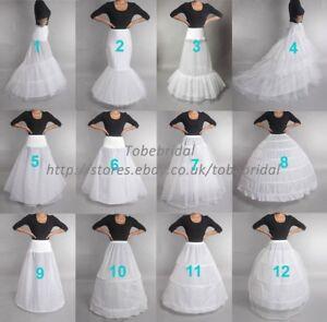 crinoline-jupon-Slips-cerceaux-taille-reguliere-Underskirt-Petticoat-Mariage