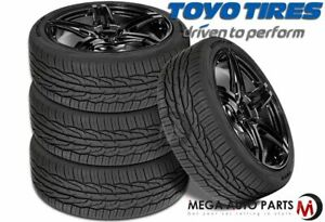4 New Toyo Extensa HP II 195/50R15 86V All Season High Performance Tires