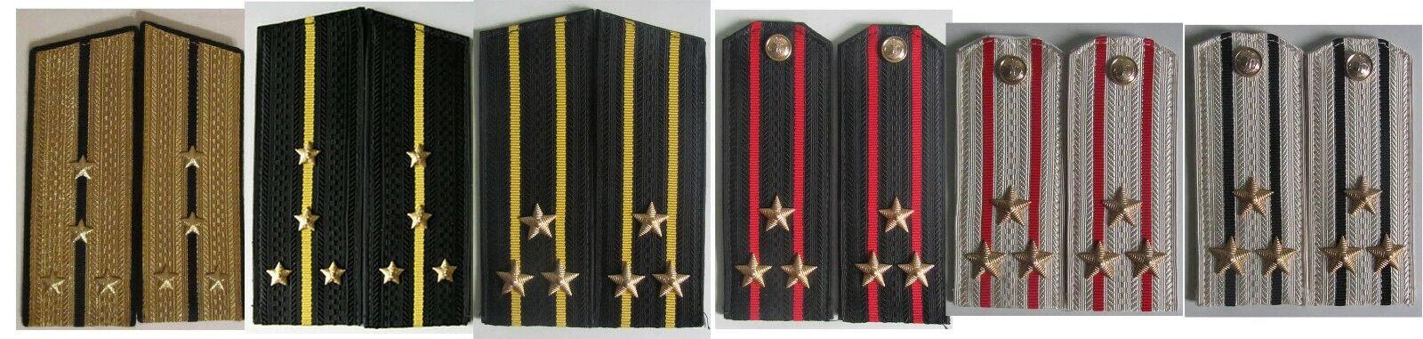 Soviet Navy officers shoulder boards