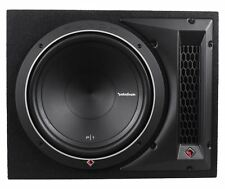 """Rockford Fosgate Punch P1-1X12 12"""" 500W 4-Ohm P1S4-12 Loaded Subwoofer Enclosure"""