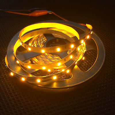 Wholesale 12V 5M Yellow SMD 3528 300LED Flexible Non-waterproof Strip Light Best