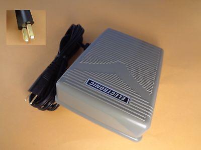 CORD Foot Control Pedal Husqvarna Viking 325 330 335 350 White 2999 5215 5823