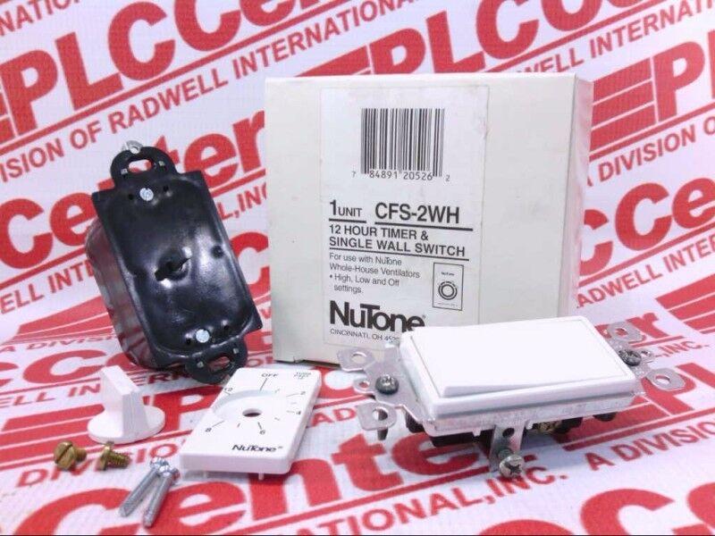 NUTONE CFS2WH   CFS2WH (NEW IN BOX)