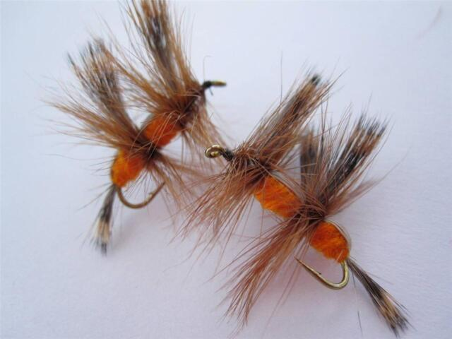 6 EA A-2 DOUBLE HUMPY (COLORS & SIZES AVAILABLE), DRY FLIES **MUST HAVE**