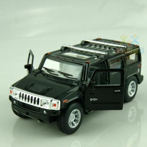 2008 Hummer H2 SUV Diecast Model Toy Car 1//40 scale 5/'/' Kinsmart